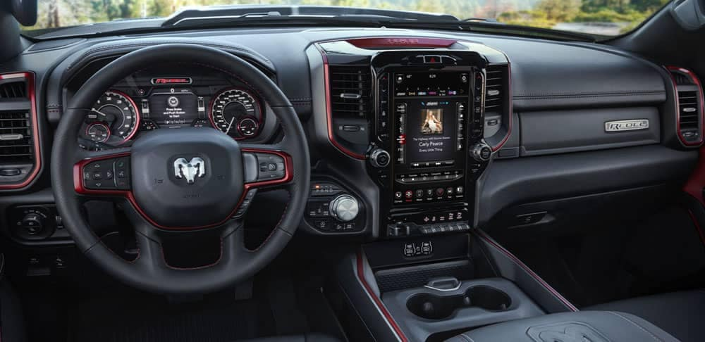 2020 Ram 1500 Rebel interior dashboard