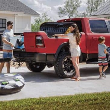 2020 Ram 1500 Rebel multifunction tailgate
