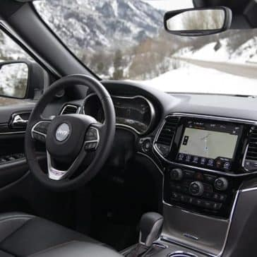 2020 Jeep Grand Cherokee Dash