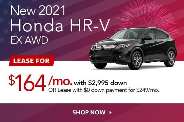 New 2021 Honda HR-V EX AWD