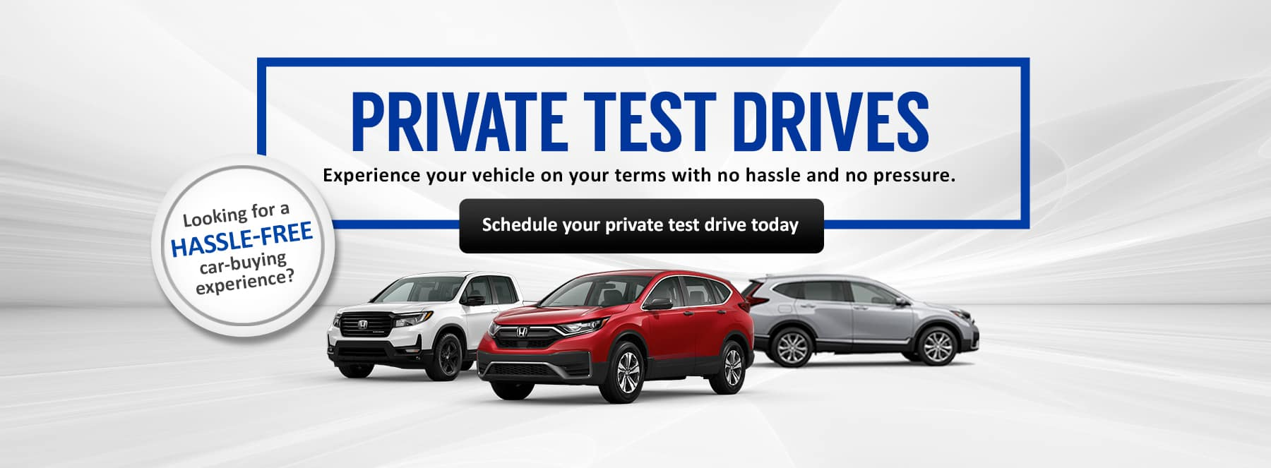 Private Test Drives