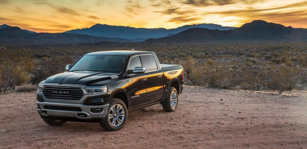 2019 All New Ram 1500 Parked