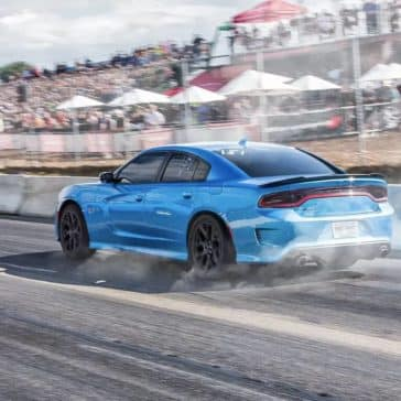 2019 Dodge Charger Burning Out
