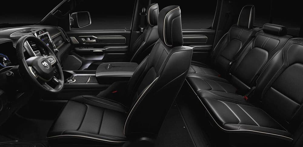2019 All New Ram 1500 Seating