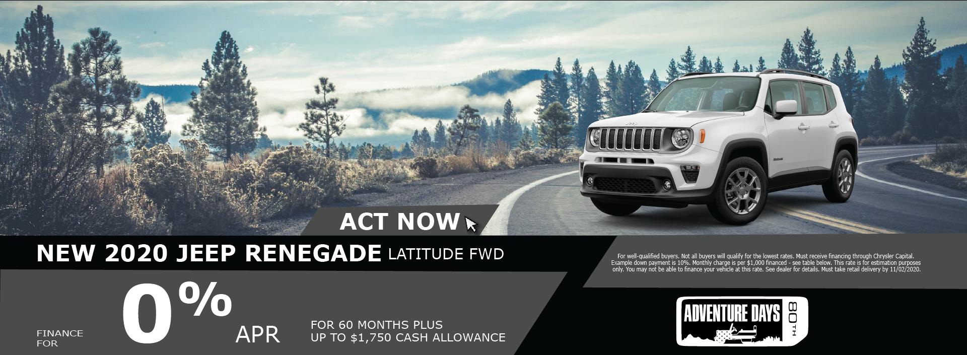Beaman – Jeep Renegade October