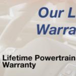 Exclusive Lifetime Warranty at Beaman Toyota