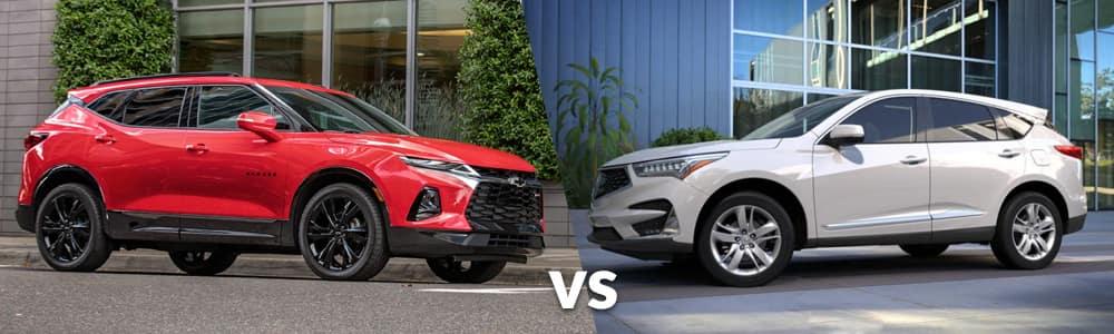 2019 Chevy Blazer vs. 2019 Acura RDX