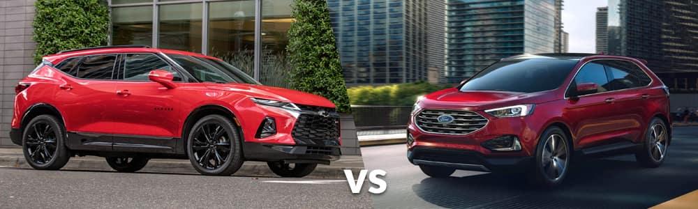 2019 Chevy Blazer vs. 2019 Ford Edge