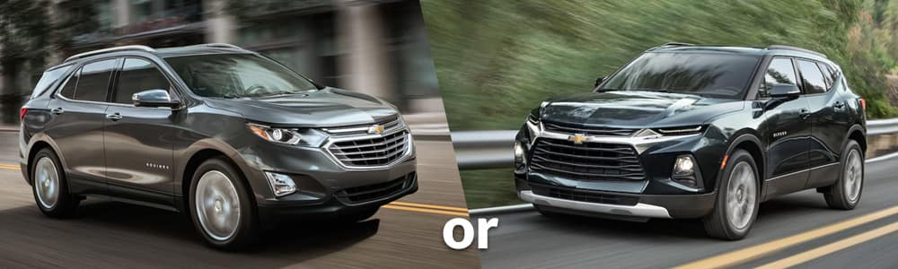 Chevy Equinox or Chevy Blazer: Which is Right for You?