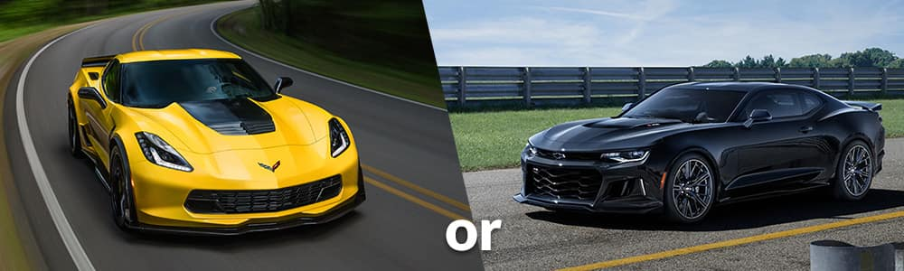 Corvette Z06 or Camaro ZL1: Which is Right for You?