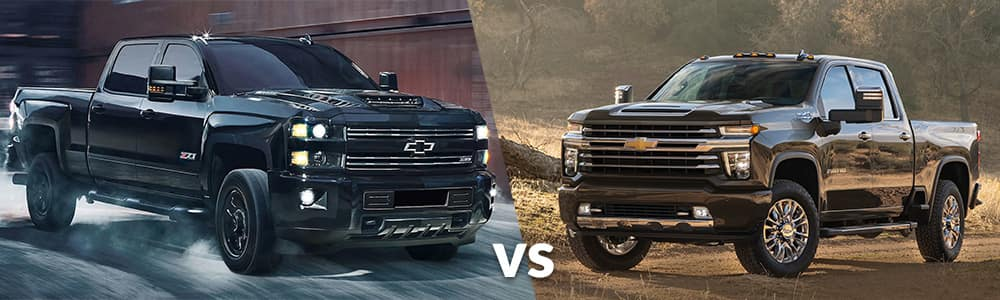 2020 Chevy Silverado HD vs. 2019 Chevy Silverado HD
