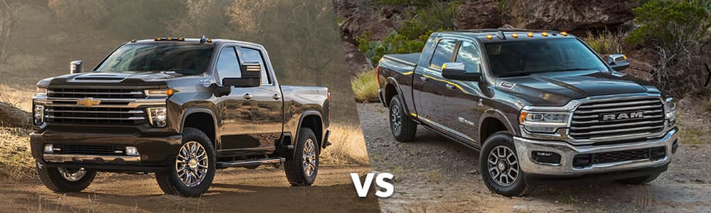 2020 Chevy Silverado HD vs. 2019 RAM Heavy Duty