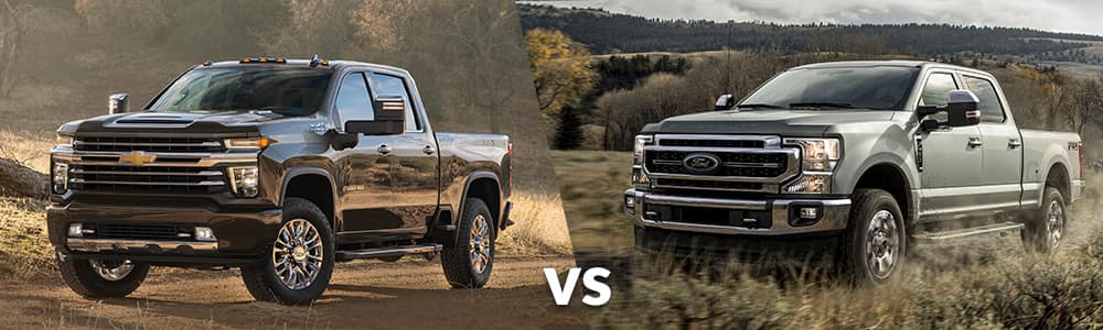 2020 Chevy Silverado HD vs. 2020 Ford Super Duty
