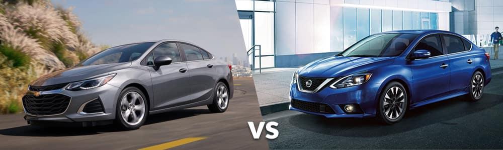 2019 Chevrolet Cruze vs. 2019 Nissan Sentra