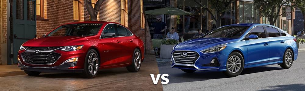 2019 Chevy Malibu vs. 2019 Hyundai Sonata