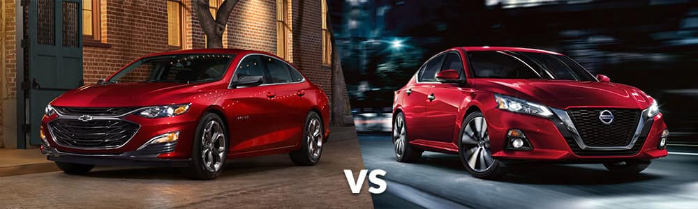 2019 Chevy Malibu vs. 2019 Nissan Altima