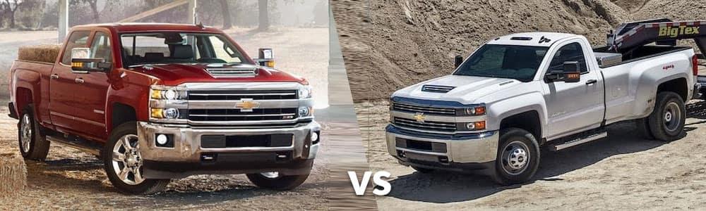 2018 Silverado 2500HD vs. 3500HD: What's the Difference?