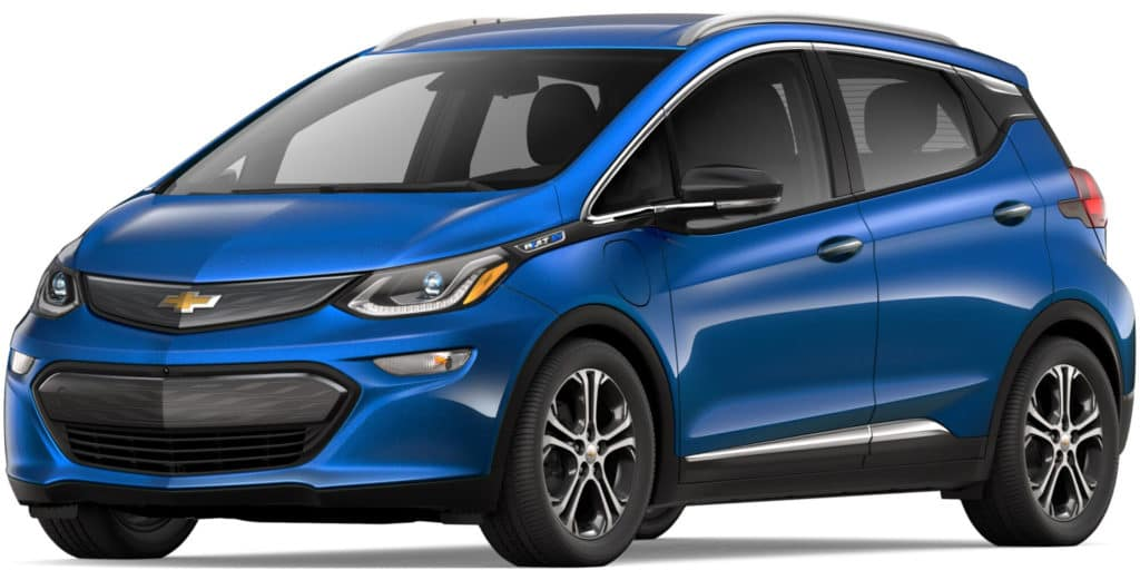 Chevy Bolt EV Range and Efficiency vs. The Competition