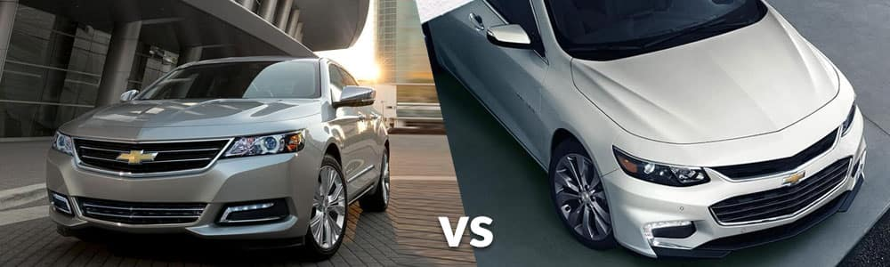 Chevy Malibu vs. Chevy Impala: What's The Difference?