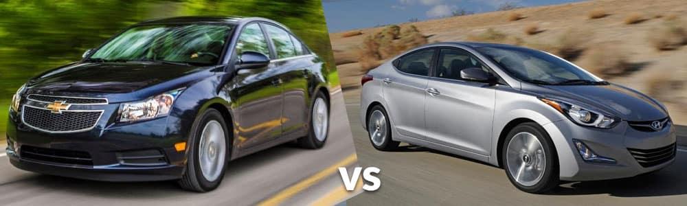 Used Chevy Cruze vs. Used Hyundai Elantra