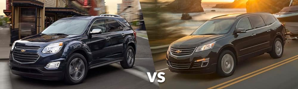 Used Chevy Equinox or Traverse: Which is Right For You?
