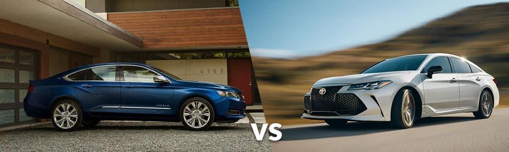 Used Chevy Impala vs. Used Toyota Avalon
