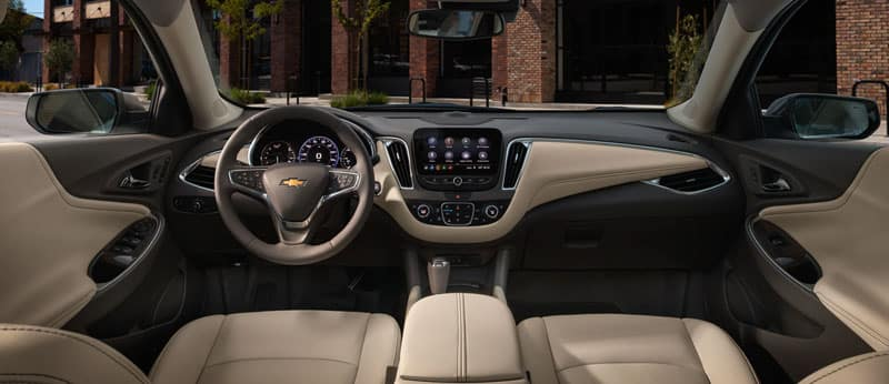 2019 Chevy Malibu interior