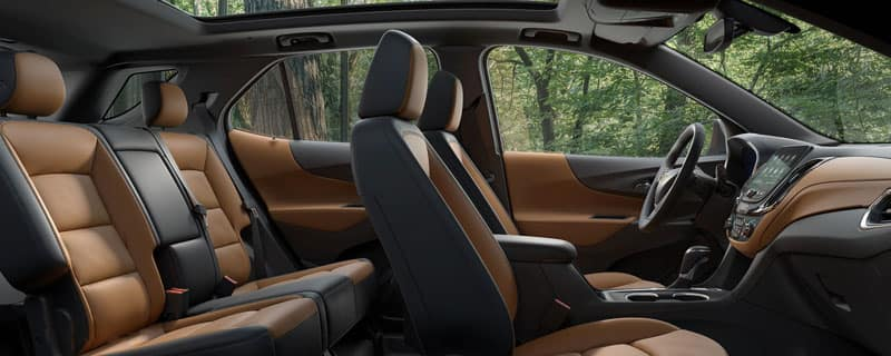2020 Chevy Equinox interior