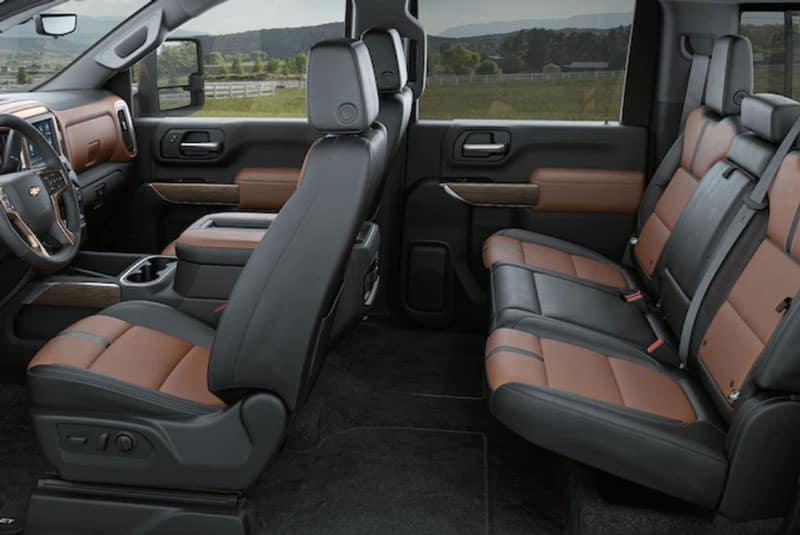 2020 Chevy Silverado 3500HD interior