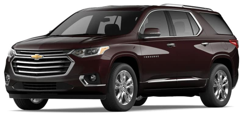 The 2020 Chevy Traverse Trims and Packages