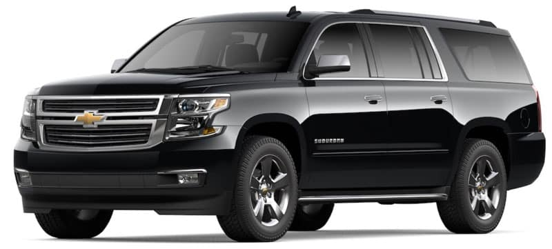 2020 Chevy Suburban Trims and Packages