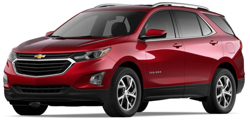 2020 Chevy Equinox Trims and Packages