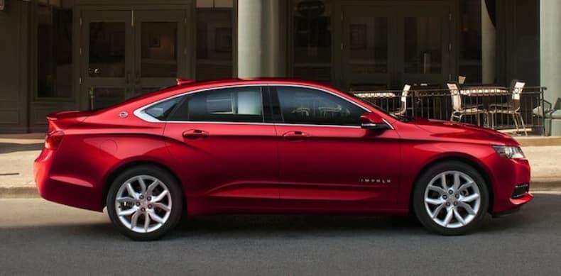 2020 Chevy Impala side