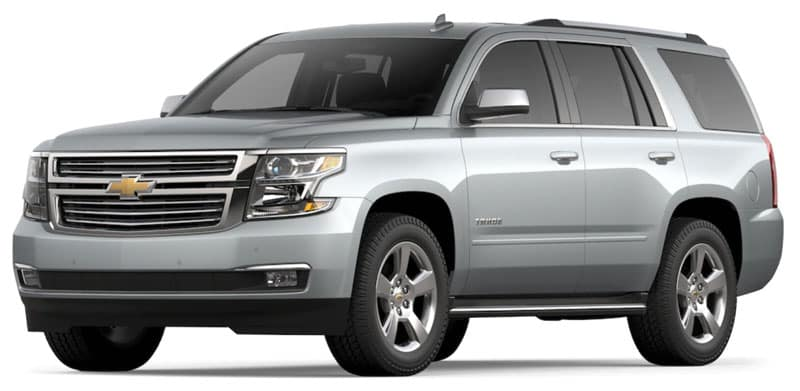 2020 Chevy Tahoe Trims and Packages
