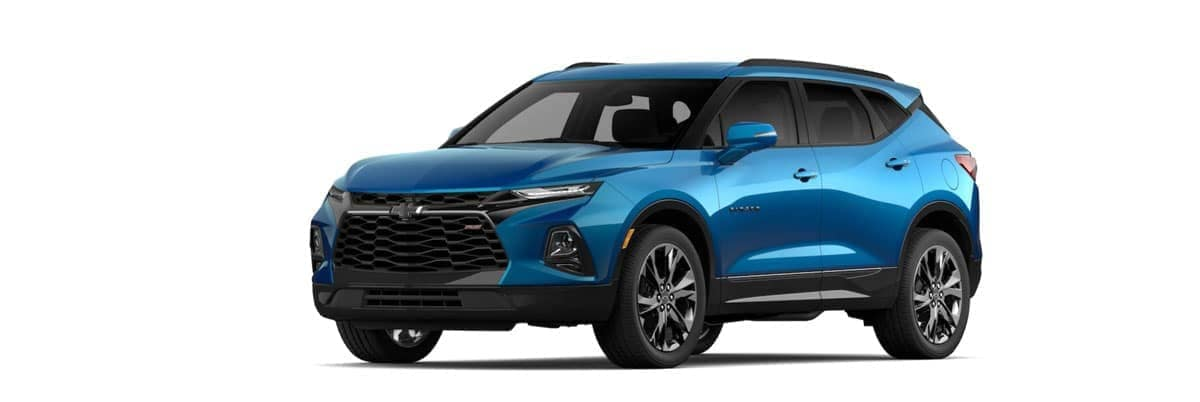 2020 chevy Blazer Bright Blue Metallic