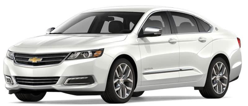 2020 Chevy Impala Trim Comparison