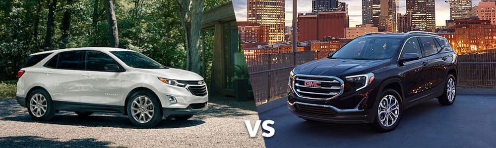 2020 Chevy Equinox vs. 2020 GMC Terrain