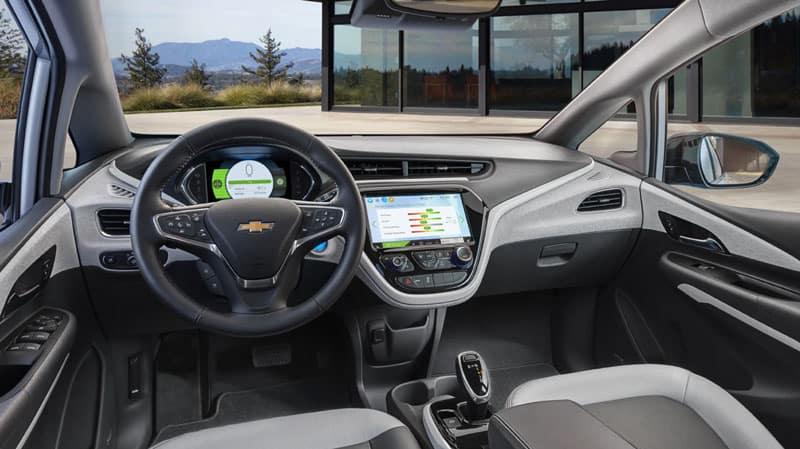 2020 Chevy Bolt EV interior