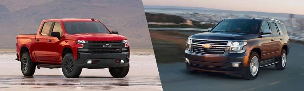 2020 chevy silverado 1500 and Chevy Tahoe