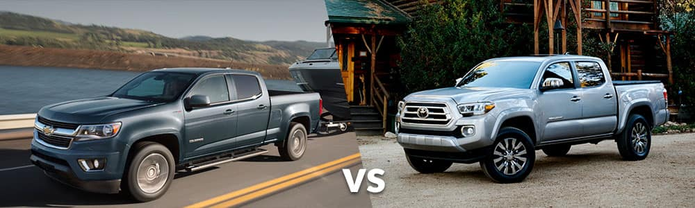 2020 Chevrolet Colorado vs. 2020 Toyota Tacoma