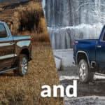 2020 Silverado 1500 and the 2020 Silverado 2500
