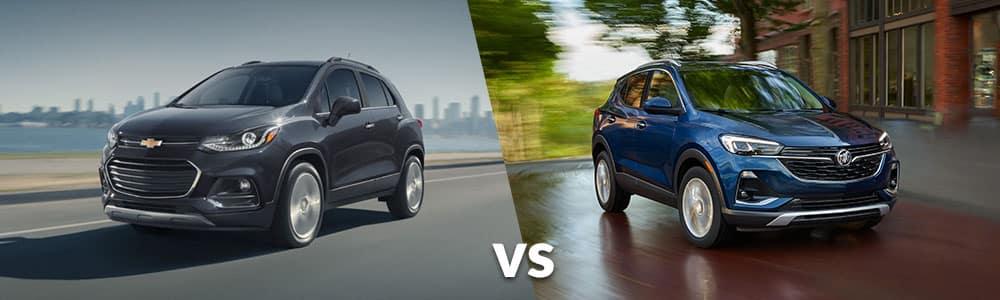 2020 Chevy Trax vs. 2020 Buick Encore