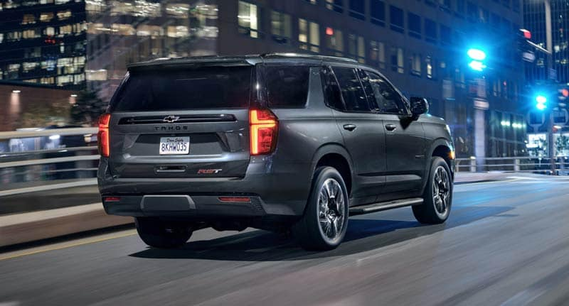 2021 Chevy Tahoe back