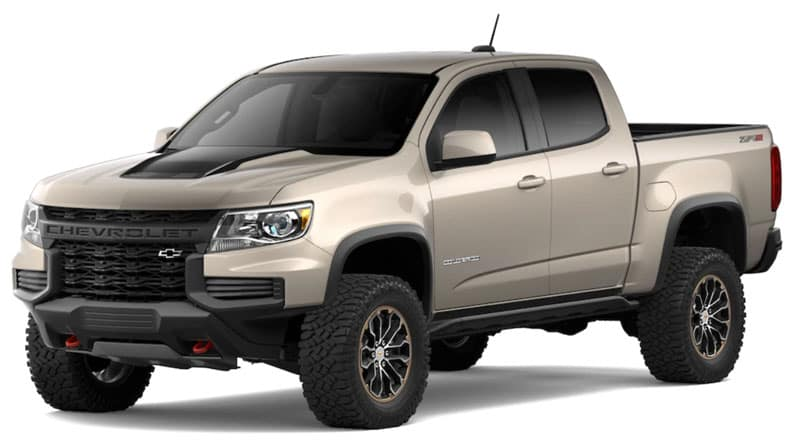 2021 Chevy Colorado Trims and Packages