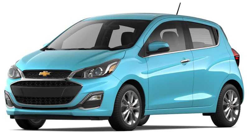 2021 Chevy Spark Special Editions and New Colors