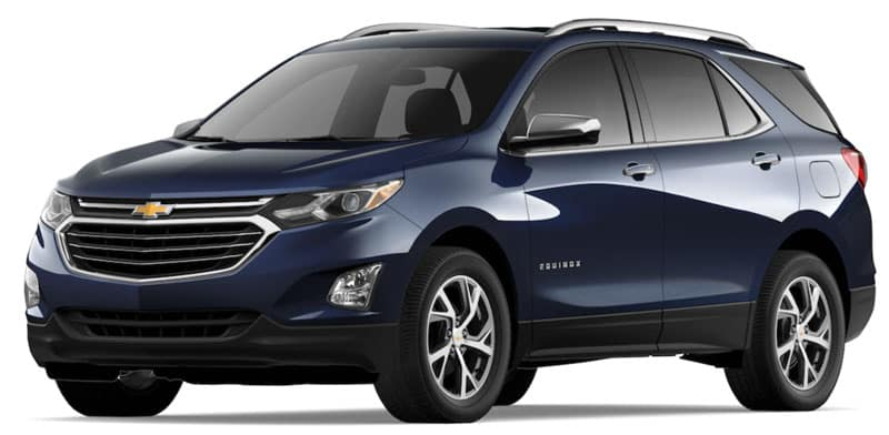 2021 Chevy Equinox Trims and Packages