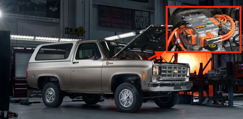 Chevy eCrate EV Retrofit Motor Kit