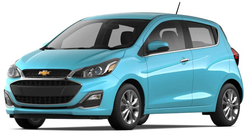 2021 Chevy Spark Trims and Packages