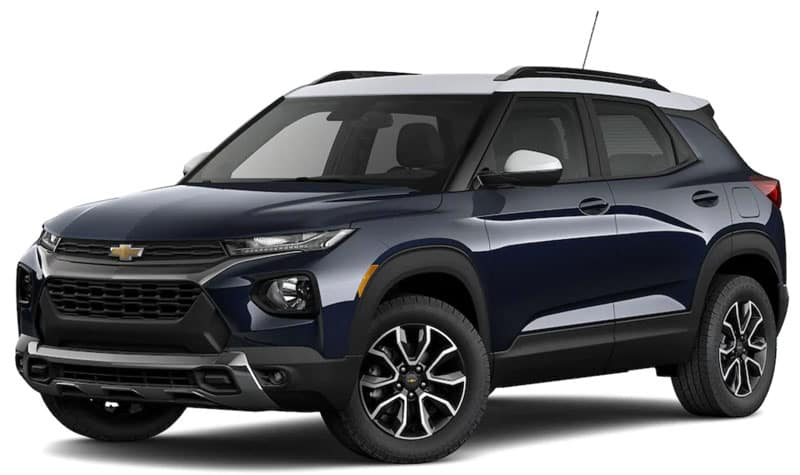 2021 Chevy Trailblazer Trims and Packages
