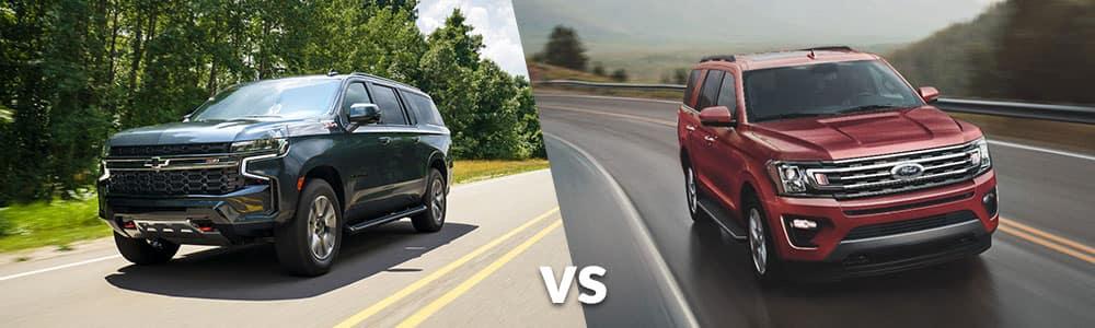 2021 Surburban vs. 2021 Ford Expedition
